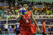 پخش زنده بازی والیبال ایران و آرژانتین از شبکه سه سیما