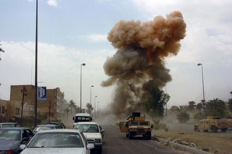 طالبان به  کاروان نیروهای خارجی حمله کرد