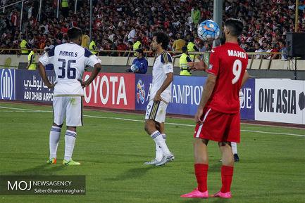 حاشیه دیدار تیم های فوتبال پرسپولیس ایران و الوحده امارات