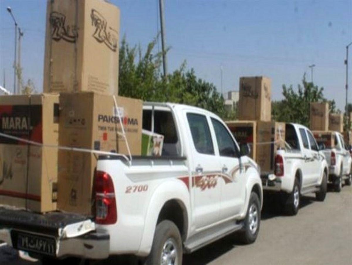 توزیع 1400سری جهیزیه در طرح مهرکریمانه در اصفهان/ کالای ایرانی در منزل نوعروسان