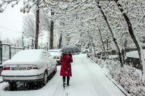 پیشبینی وقوع یخبندان در تهران