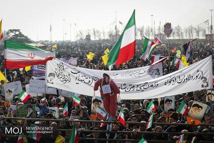 جشن انقلاب اسلامی با حضور رییس جمهور