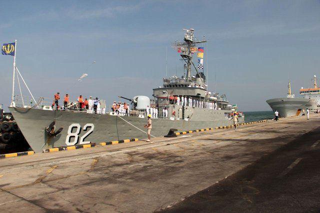 پهلوگیری ناوگروه ۵۳ نیروی دریایی راهبردی ارتش جمهوری اسلامی