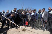 برگزاری مراسم روز درختکاری در ذوب آهن اصفهان