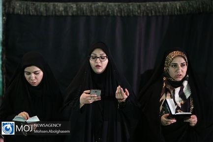 احیای شب بیست و سوم ماه مبارک رمضان در گلزار شهدای بهشت زهرا (س)