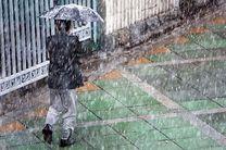 تشدید بارش برف و باران در مازندران/احتمال آبگرفتگی معابر بر اثر بارش شدید باران