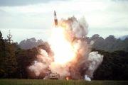کره شمالی ۲ موشک بالستیک شلیک کرد