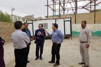 بازسازی و ساخت مدارس در مناطق محروم دلفان آغاز شد
