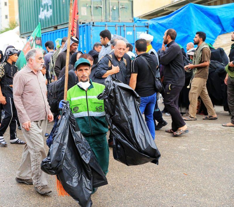 اعزام 70 نیروی خدمات شهری شهرداری اصفهان برای خدمت رسانی به زوار اربعین