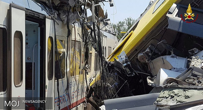 سانحه برخورد دو قطار در ایتالیا ۱۲ کشته بر جای گذاشت