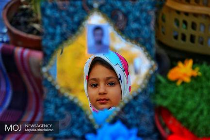 آغاز سال نو در  کنار خانواده شهید مدافع حرم