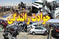 6مصدوم بر اثر واژگونی خودروی سراتو در بلوار آزادگان شاهین شهر