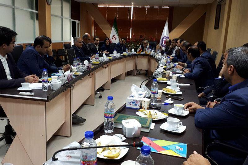 جلسه مدیر شعب استان خراسان جنوب بانک ایران زمین برگزار شد