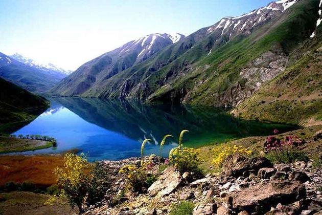 دریاچه گهر لرستان، جواهری بر فراز اشترانکوه