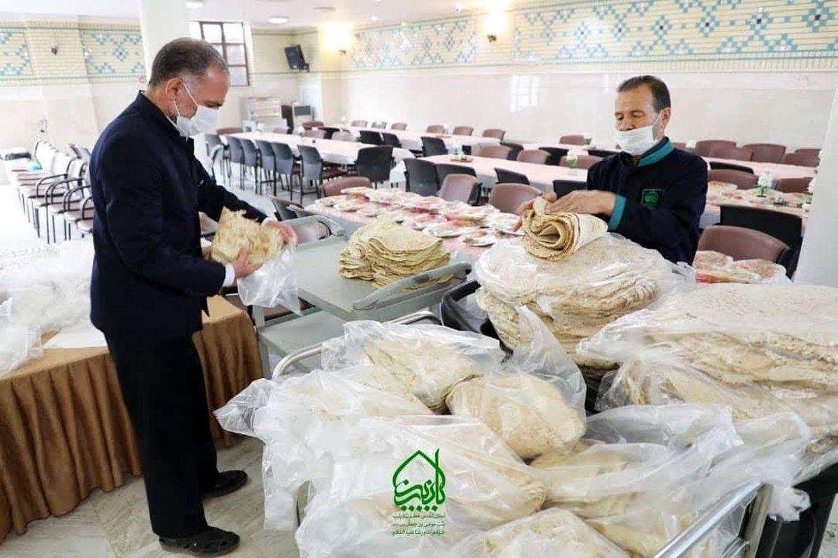 توزیع 15 هزار پرس غذای گرم بین نیازمندان در ماه مبارک رمضان