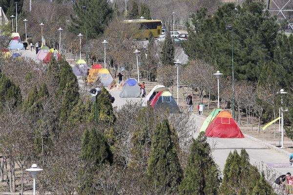 خروج 318 کپسول گاز از چادر مسافران در باغ فدک/ وقوع 29 حریق و حادثه در شهر