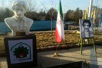 سردیس شهید کامران نجات الهی در دانشگاه کردستان رونمایی شد