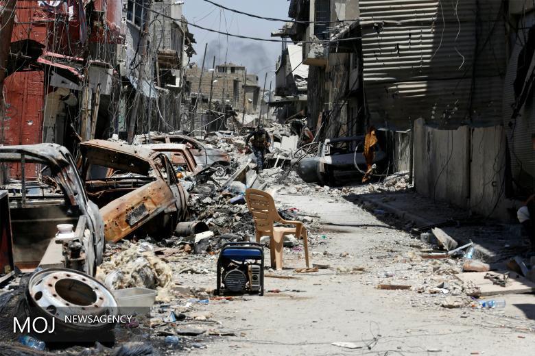 کشف کارگاه تولید سلاح شیمیایی در بخش قدیمی شهر موصل