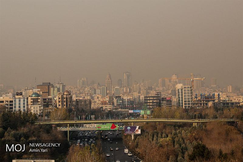 کیفیت هوای تهران در 3 مرداد ناسالم است