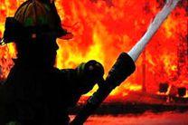 آتش سوزی در نمایشگاه عرضه محصولات بهاره