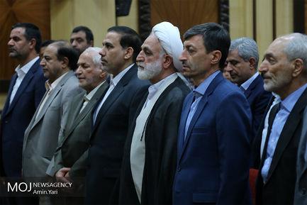 سی و یکمین جشن گلریزان ستاد مردمی رسیدگی به امور دیه در اتاق بازرگانی ایران برگزار شد
