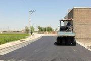 عملیات زیرسازی و روکش آسفالت معابر در فلاورجان