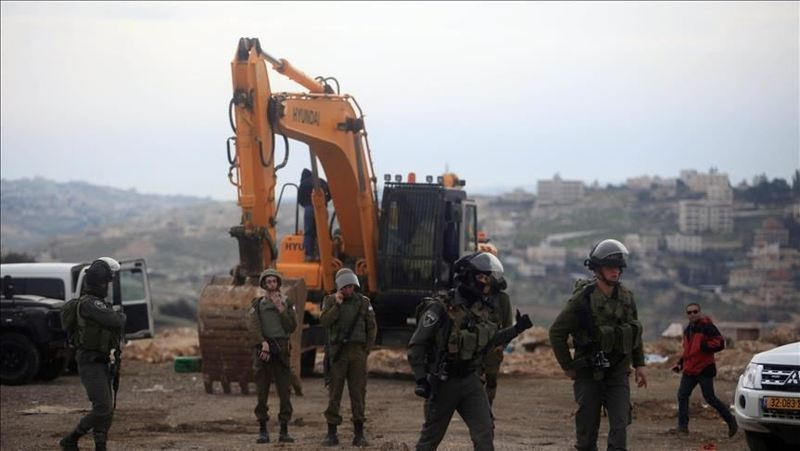 رژیم صهیونیستی 4 خانه فلسطینی را در کرانه باختری تخریب کرد