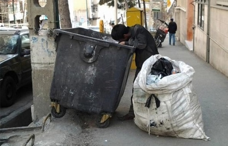 برخورد با زباله گردها و جلوگیری از شیوع بیماری و آسیبهای اجتماعی در کرمانشاه