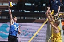 تیم ملی والیبال ایران ساحلی به مسکو رفت