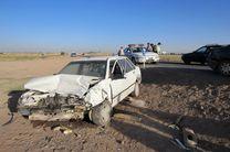 تصادف در محور اهواز-هفتکل 5 کشته و مصدوم برجای گذاشت