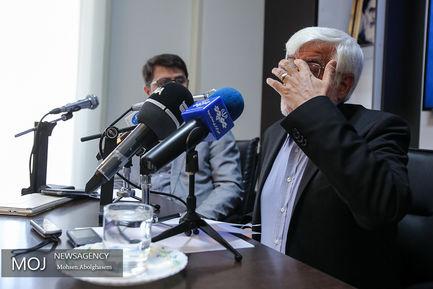 نشست صمیمی محمدرضا عارف با اصحاب رسانه