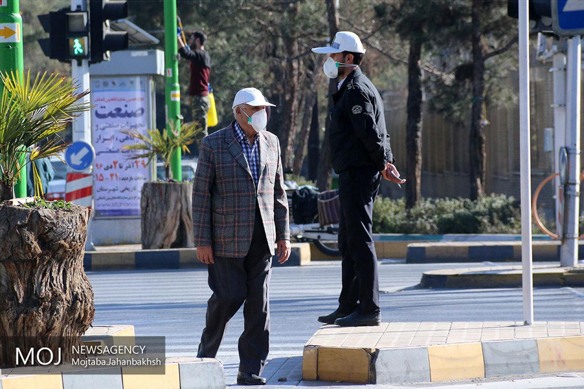 کیفیت هوای اصفهان ناسالم برای گروه های حساس / شاخص کیفی هوا 102