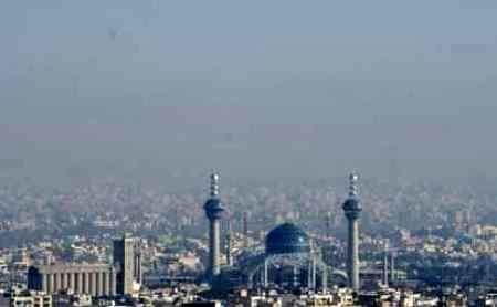 شرایط ناسالم هوای اصفهان برای گروه های حساس
