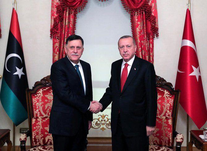اردوغان با نخست وزیر لیبی دیدار و گفتگو کرد