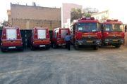 ماشینآلات آتشنشانی کرمانشاه مجهز میشوند