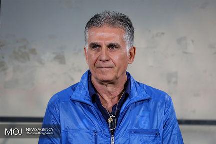 کارلوس کیروش سرمربی تیم فوتبال ایران
