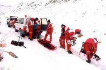 امدادرسانی هلال احمر اصفهان به 147 حادثه دیده در برف و کولاک