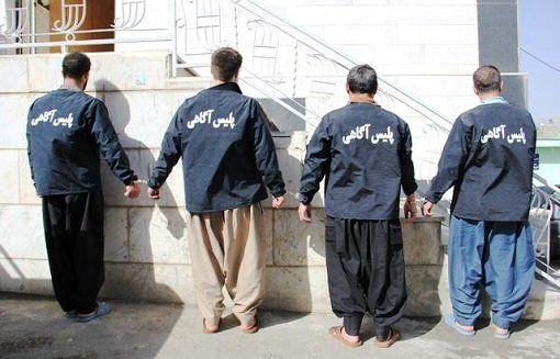 باند سارقان حرفه ای منزل و مغازه در شهرستان ماهشهر منهدم شد