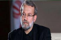 لاریجانی در مراسم هفتمین روز درگذشت کشته شدگان زلزله کرمانشاه حضور یافت