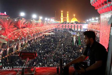 مراسم+عزاداری+اربعین+حسینی+در+حرم+مطهر+حضرت+عباس+(ع)