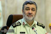 پیام تسلیت فرمانده ناجا به خانواده شهید 4 ساله حادثه تروریستی اهواز