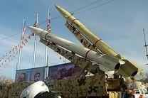 نمایش سه فروند موشک بالستیک سپاه در مسیر راهپیمایی ۲۲ بهمن در تهران