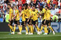 نتیجه بازی بلژیک و تونس در جام جهانی/ پیروزی پُر گل بلژیک برابر تونس