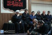 عزاداری حضرت اباعبدالله الحسین (ع) با حضور رییس جمهوری