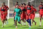 حضور دیایاته در تمرینات تیم قطری!