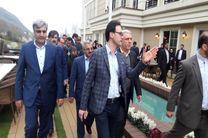 نخستین هتل5ستاره گیلان در لاهیجان بهره برداری شد