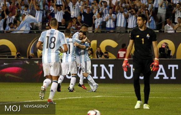 آرژانتین و شیلی مقابل حریفان خود به برتری رسیدند