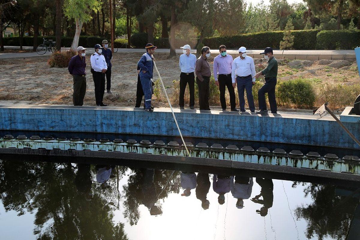 کیفیت پساب تصفیه خانه فاضلاب جنوب اصفهان مطابق با استانداردهای زیست محیطی است