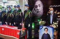 برگزاری مراسم پیکر رییس سابق بنیاد شهید در حرم حضرت عبدالعظیم(ع)
