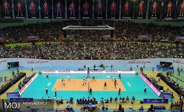 حریفان ایران در والیبال جام کنفدراسیون آسیا مشخص شدند